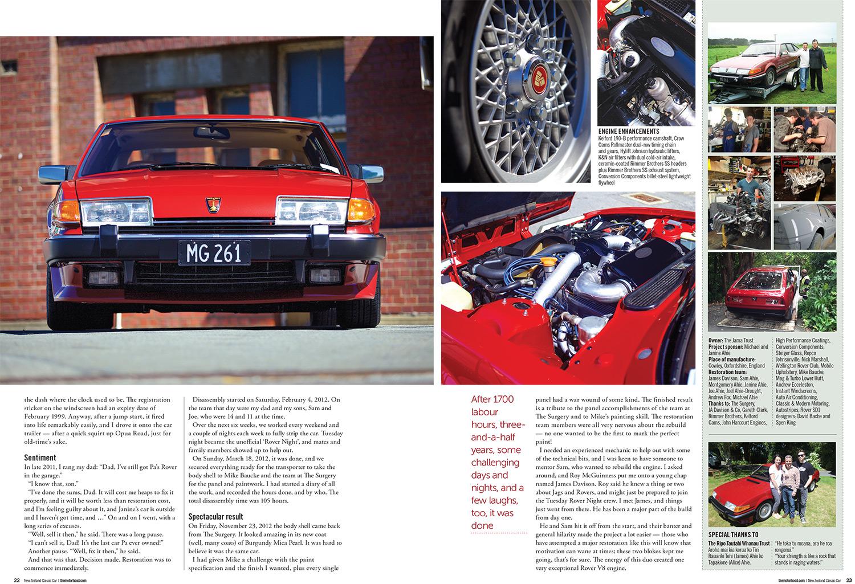 1985 Rover 3500 Vanden Plas SD1 – Revolutionary Rover – The